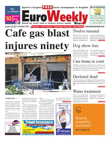Euro Weekly News Axarquia 6 12 October 2016 Issue 1631