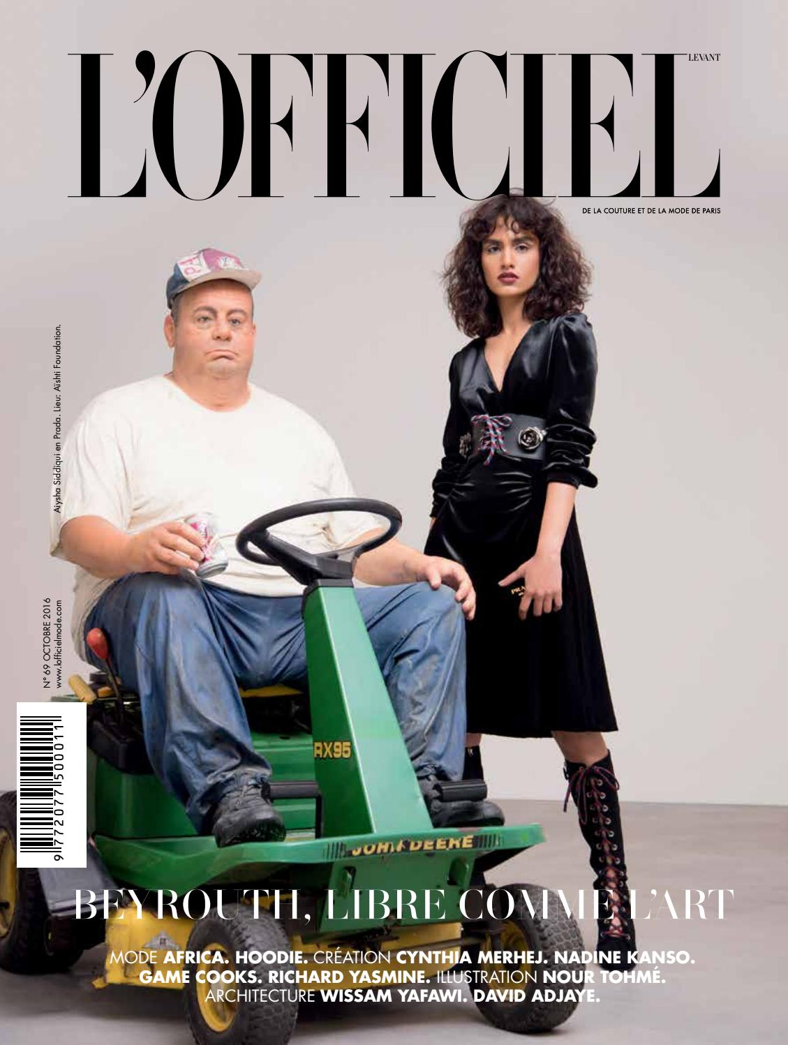 L Officiel-Levant, October Issue 69 by L Officiel Levant - issuu 0544a1e128c