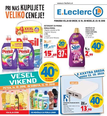 E Leclerc Ljubljana, velja od 12  10  do 23  10  2016 by E