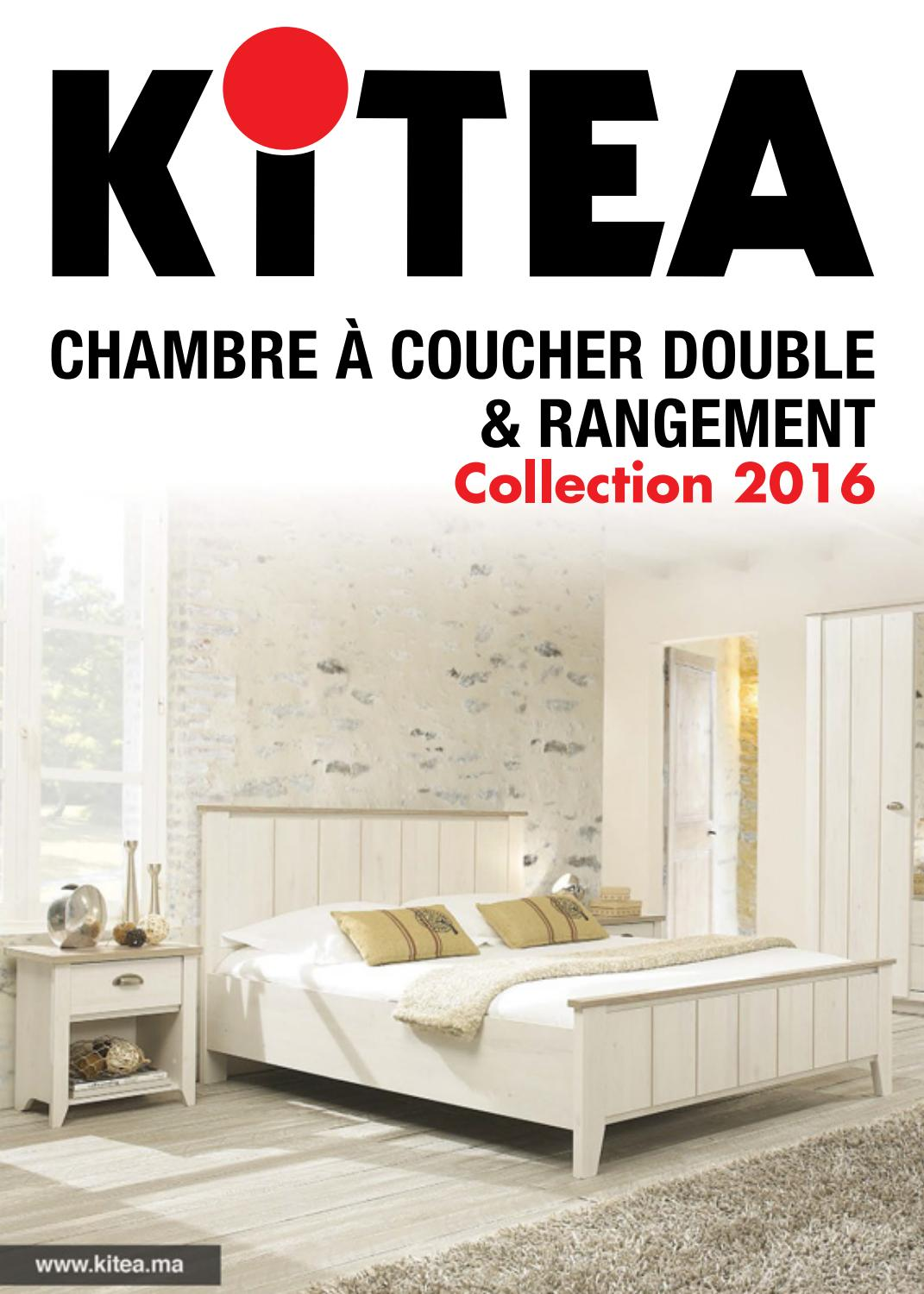 Kitea chambre coucher 2016 by promotion au maroc issuu for Miroir kitea