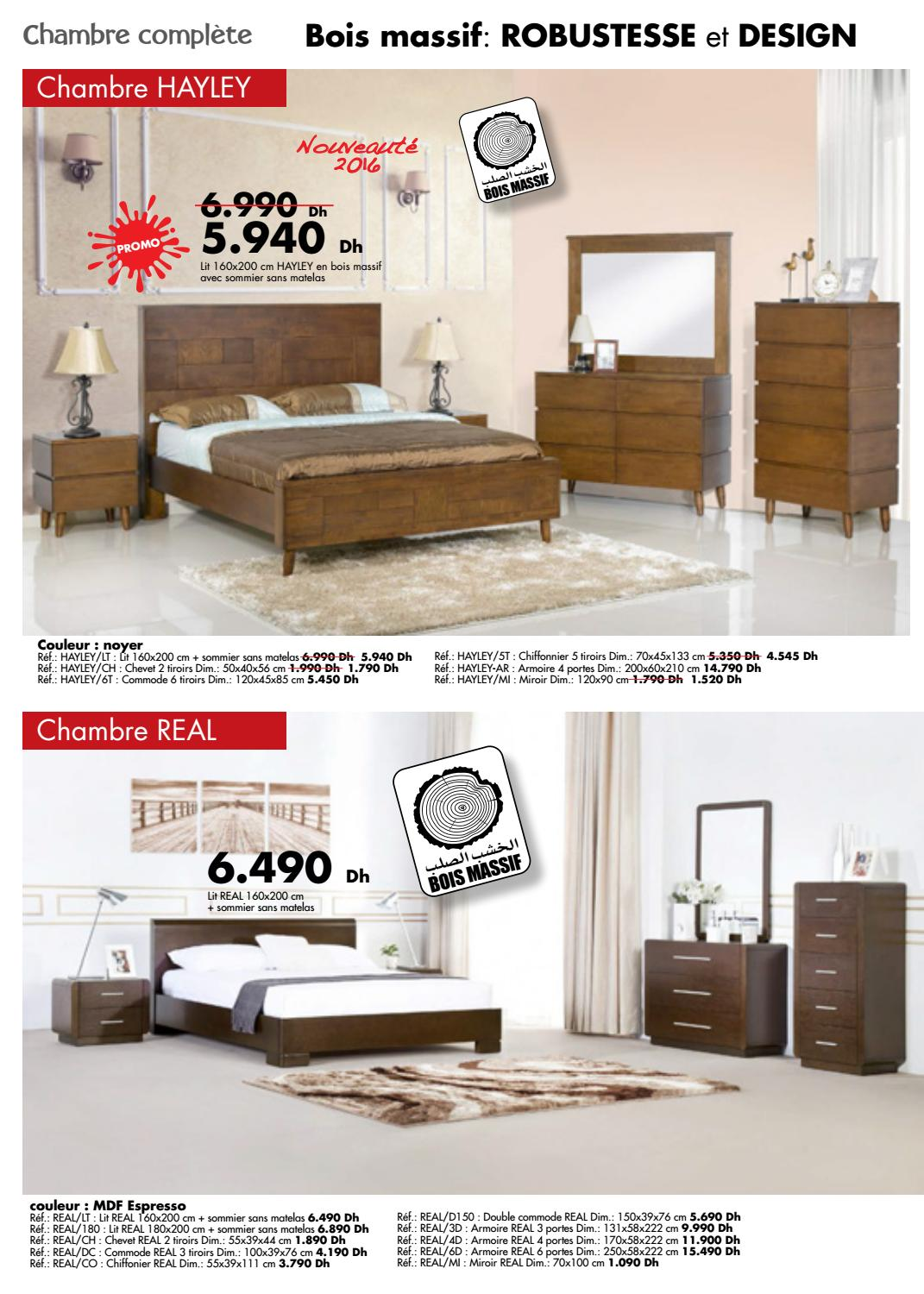 Kitea Chambre Coucher 2016 By Promotion Au Maroc Issuu
