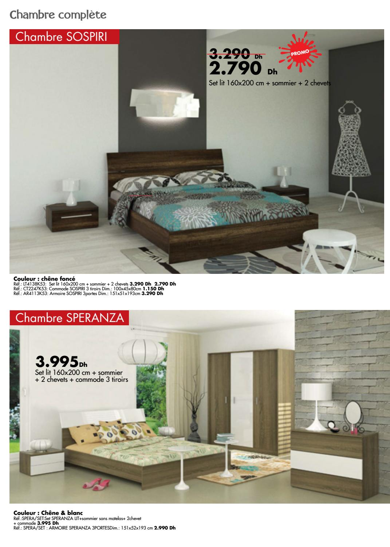 Kitea chambre coucher 2016 by promotion au maroc issuu - Chambre a coucher 2016 maroc ...
