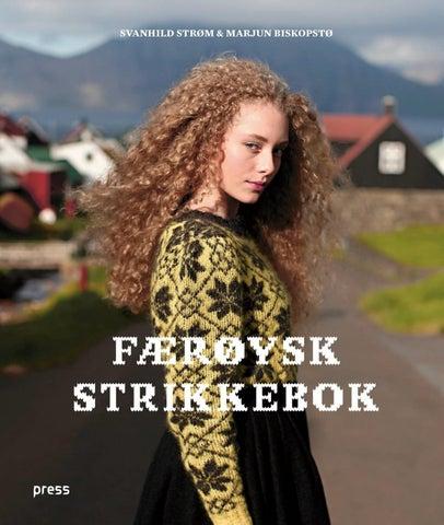acd5d6db Færøysk strikkebok (Svanhild Strøm & Marjun Biskopstø) by Forlaget ...