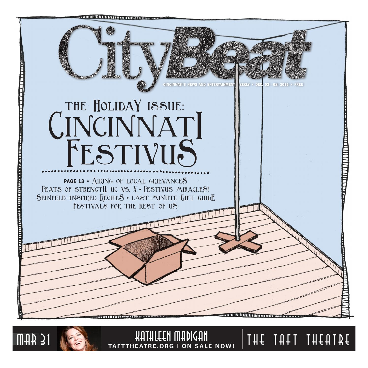 Citybeat Dec 02 2015 by Cincinnati CityBeat issuu
