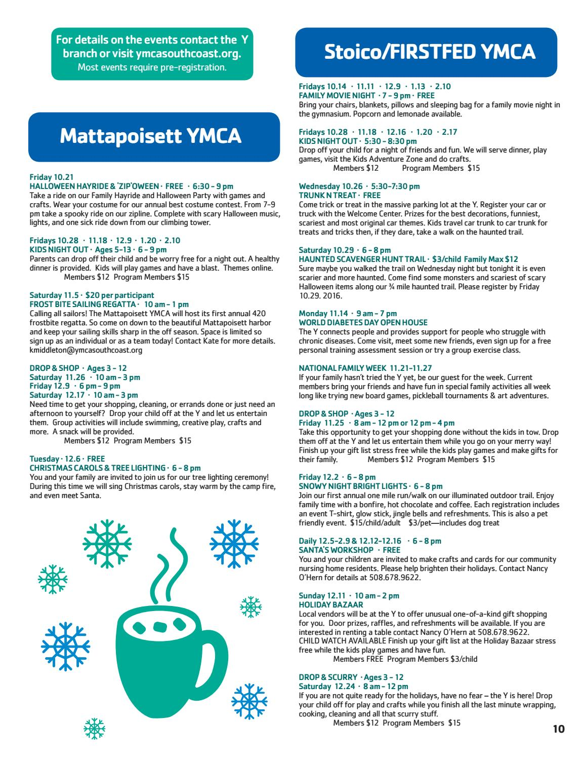 2016 17 fall winter program guide by ymca southcoast issuu solutioingenieria Gallery