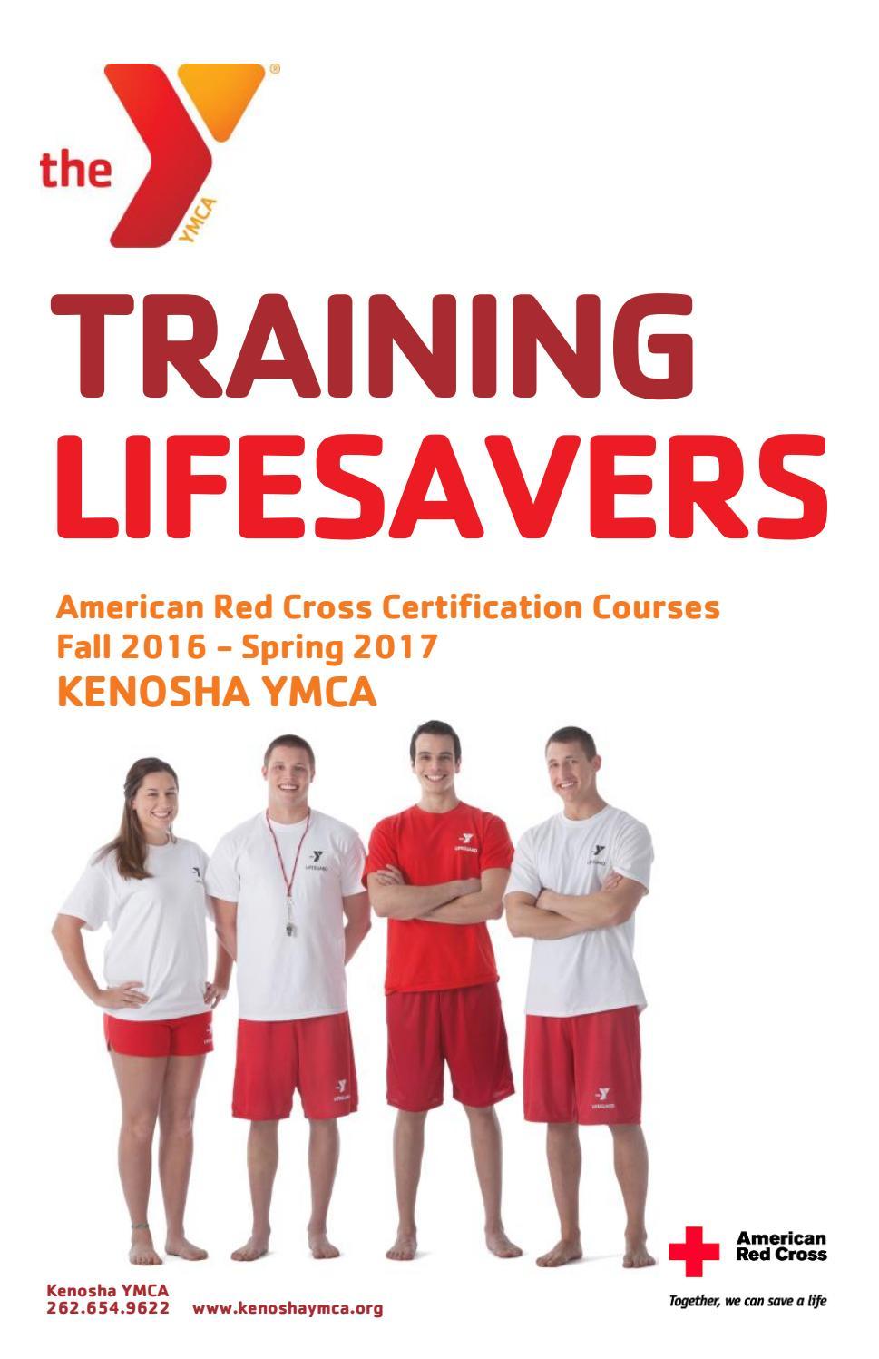 American Red Cross Certification Courses By Kenosha Ymca Issuu