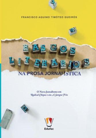 Rasgos Literários by Editora Edufac - issuu 7b325d5173