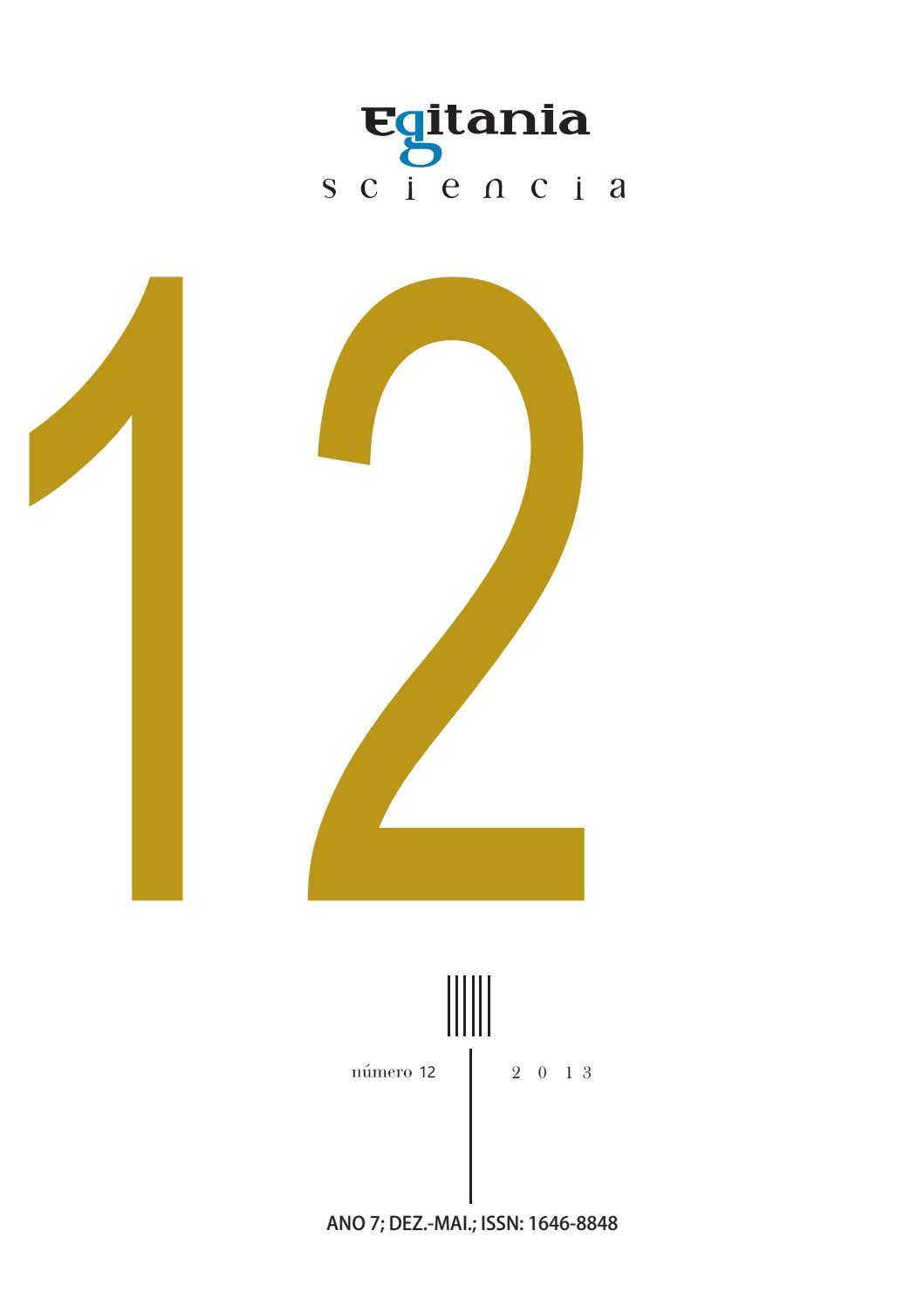 Egitania sciencia - Número 12 by UDI- IPG - issuu 10bb542af1