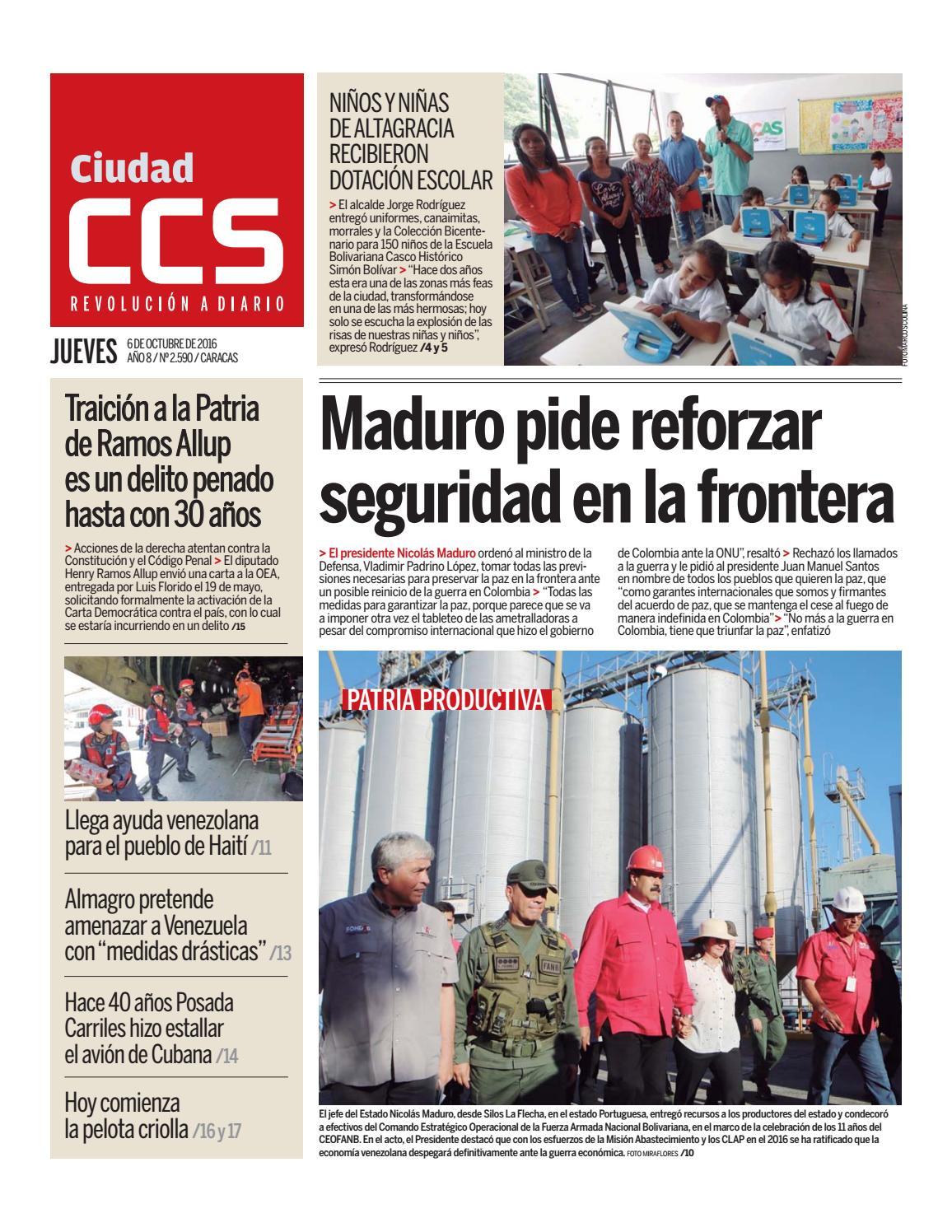 09cc191496eab 06 10 16 by Ciudad CCS - issuu