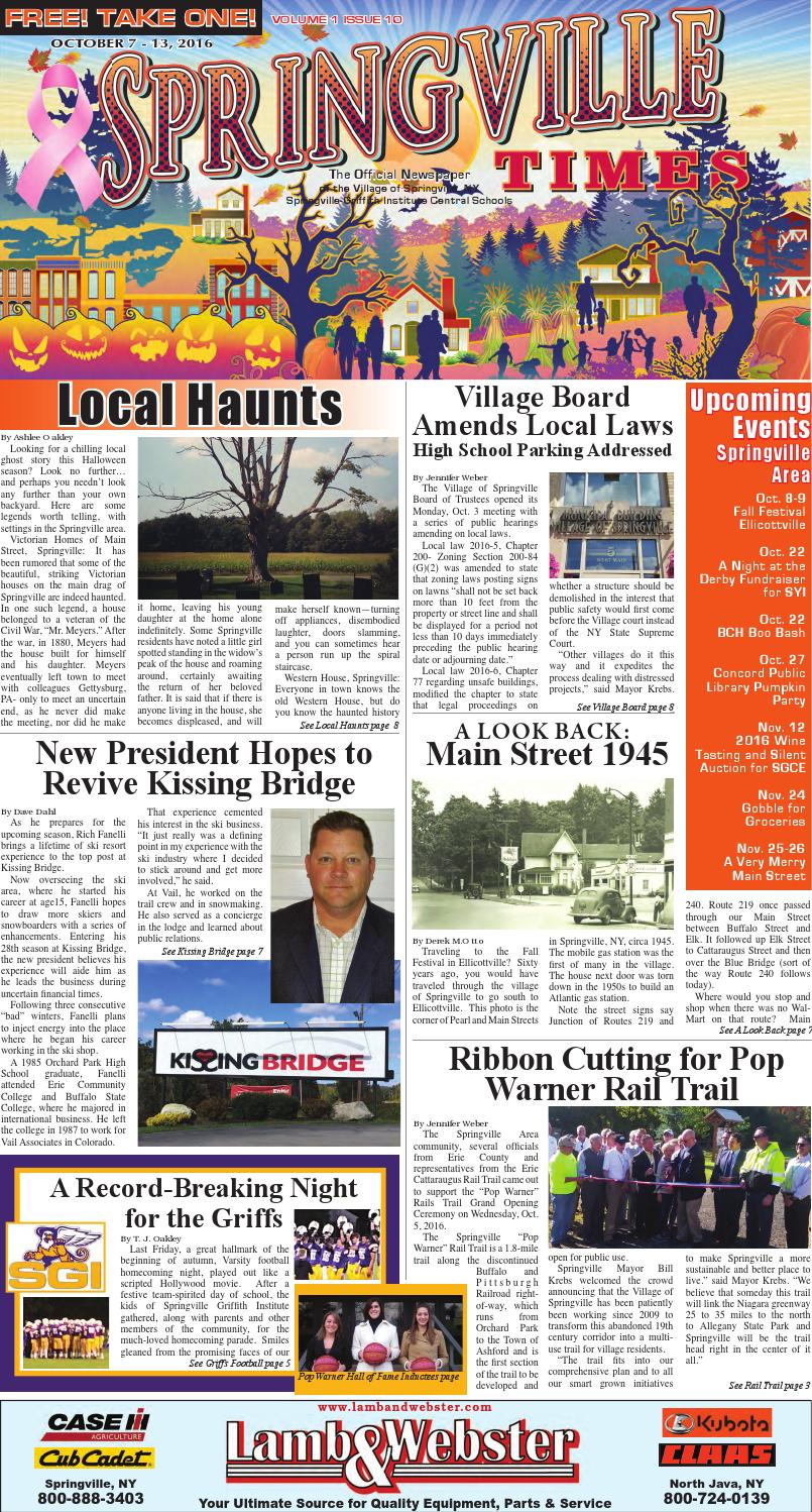 10 07 16 springville times by ellicottville times issuu