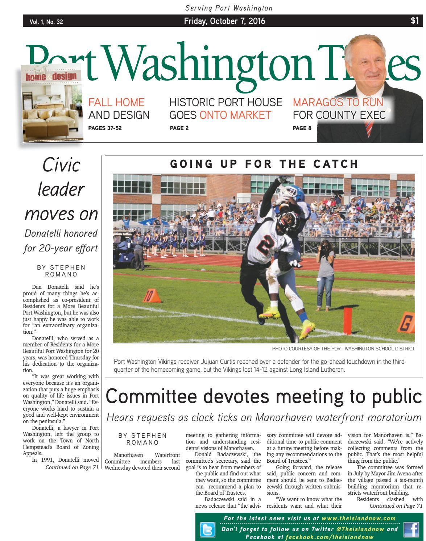 Port Washington Times 10 7 16 By The Island Now Issuu