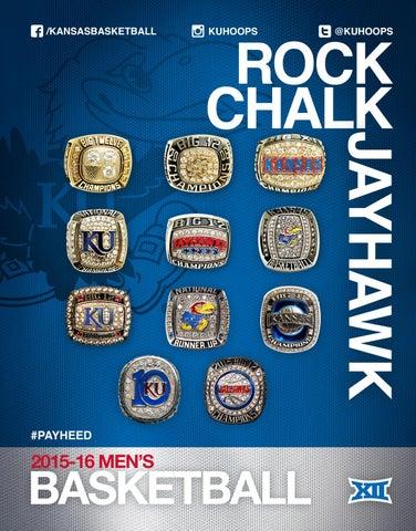 c438be94cd6 2015-16 Kansas Basketball Media Guide by Kansas Athletics - issuu
