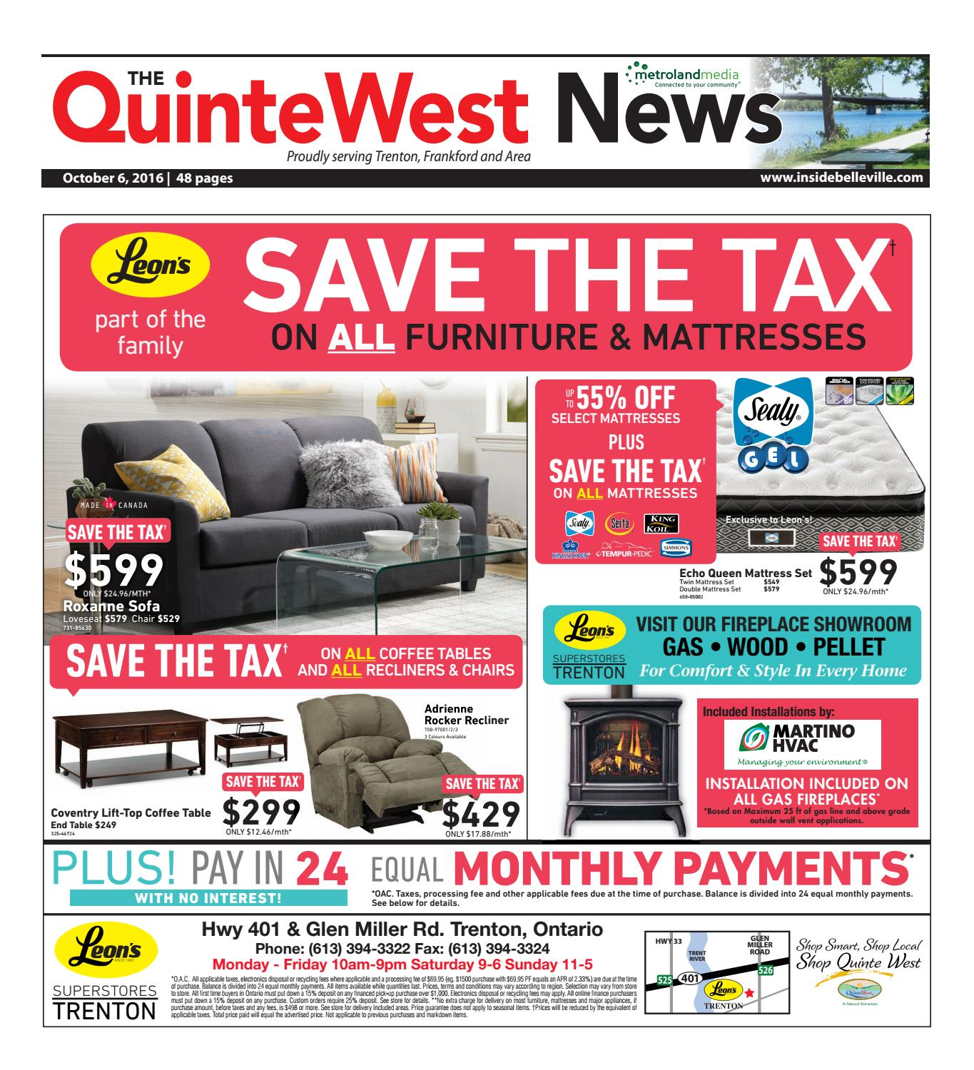 Quinte100616 by Metroland East - Quinte West News - issuu 16162cdca520
