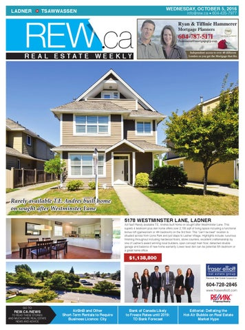 ladner tsawwassen oct 5 2016 real estate weekly by real estate rh issuu com