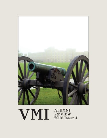 87948916d4 VMI Alumni Review 2016-Issue 4 by VMI Alumni Agencies - issuu