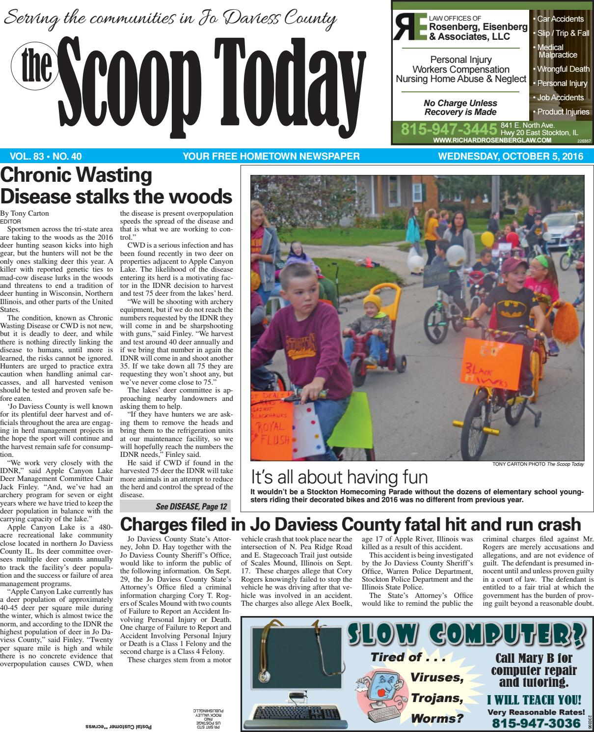 St 10 5 16 by Southern Lakes Newspapers / Rock Valley