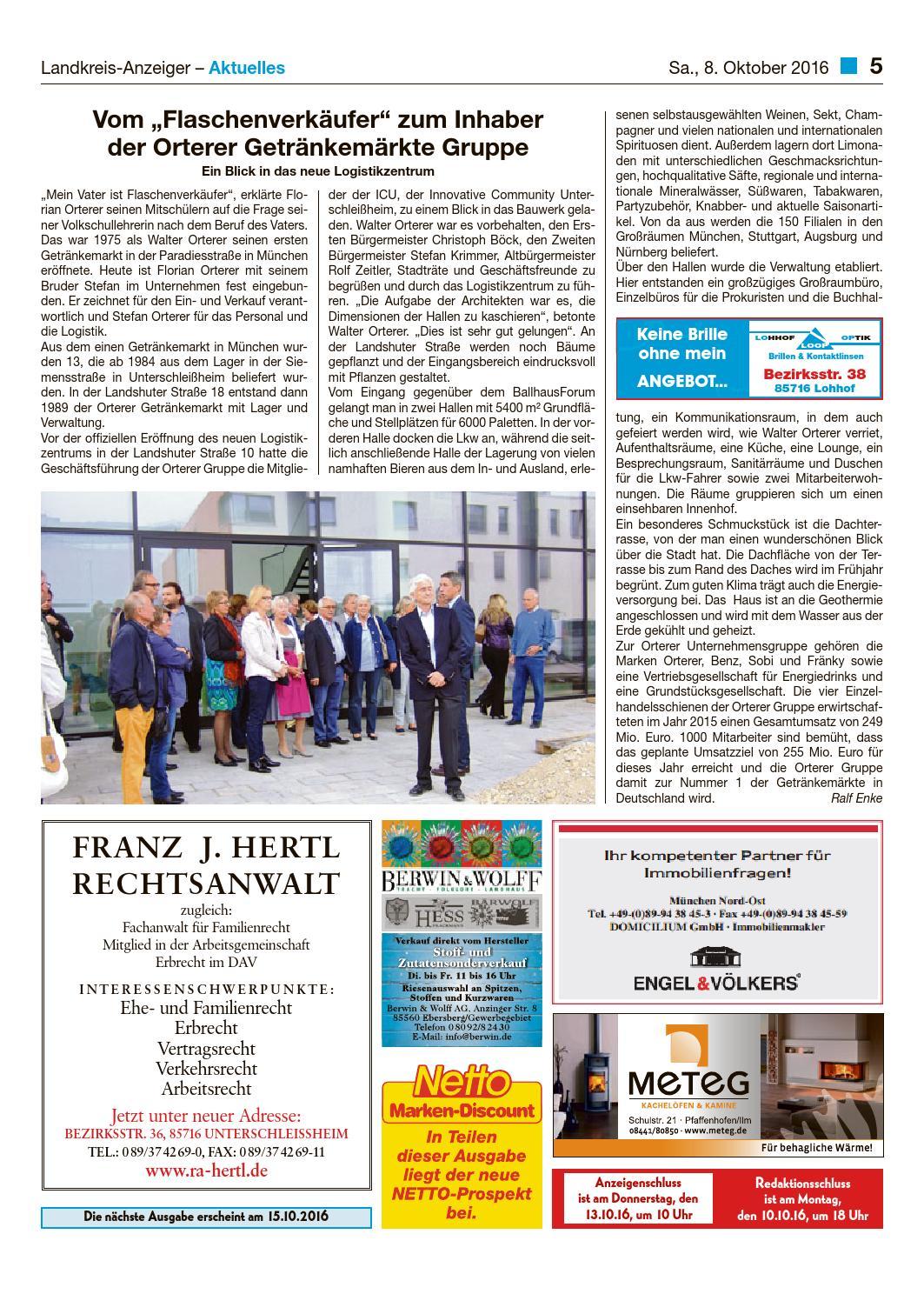 Lohhofer & Landkreis Anzeiger 40/16 by Zimmermann GmbH Druck ...