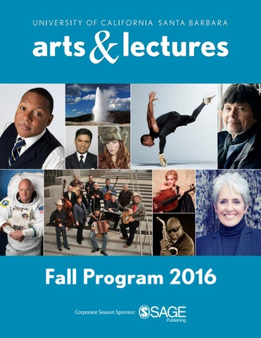 UCSB Arts & Lectures - Fall Program 2016