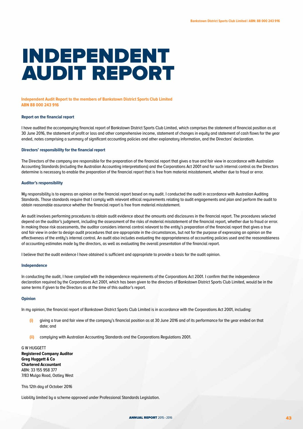 ethical requirements for auditors Section 1 – general requirements and guidance 7 section 1 of the ethical standard sets out the general requirements for auditors to act with integrity, objectivity and independence and establishes some of the framework for.