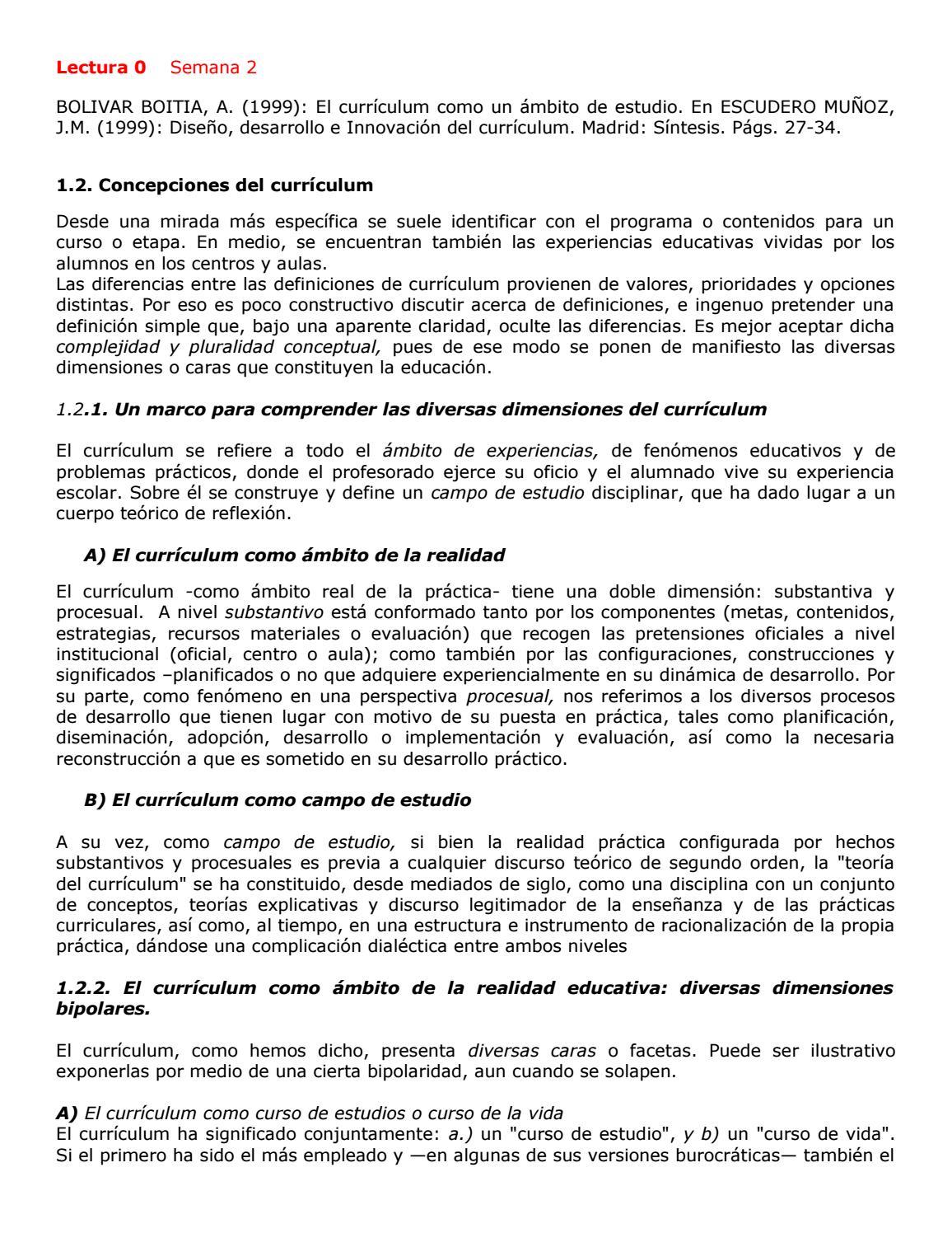 Diseño curricular iera prueba by alejandro torres arguedas - issuu