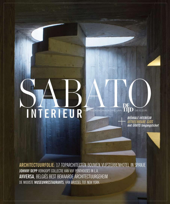 sabato interieur 2016 nl by de tijd l 39 echo issuu. Black Bedroom Furniture Sets. Home Design Ideas