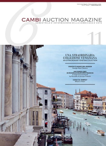 Cambi Auction Magazine Ottobre 2016 - n.11 by Thetis srl - issuu 7dc136911d9b