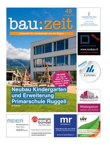 bau:zeit Ausgabe 49 by Medienbüro Oehri & Kaiser AG - issuu