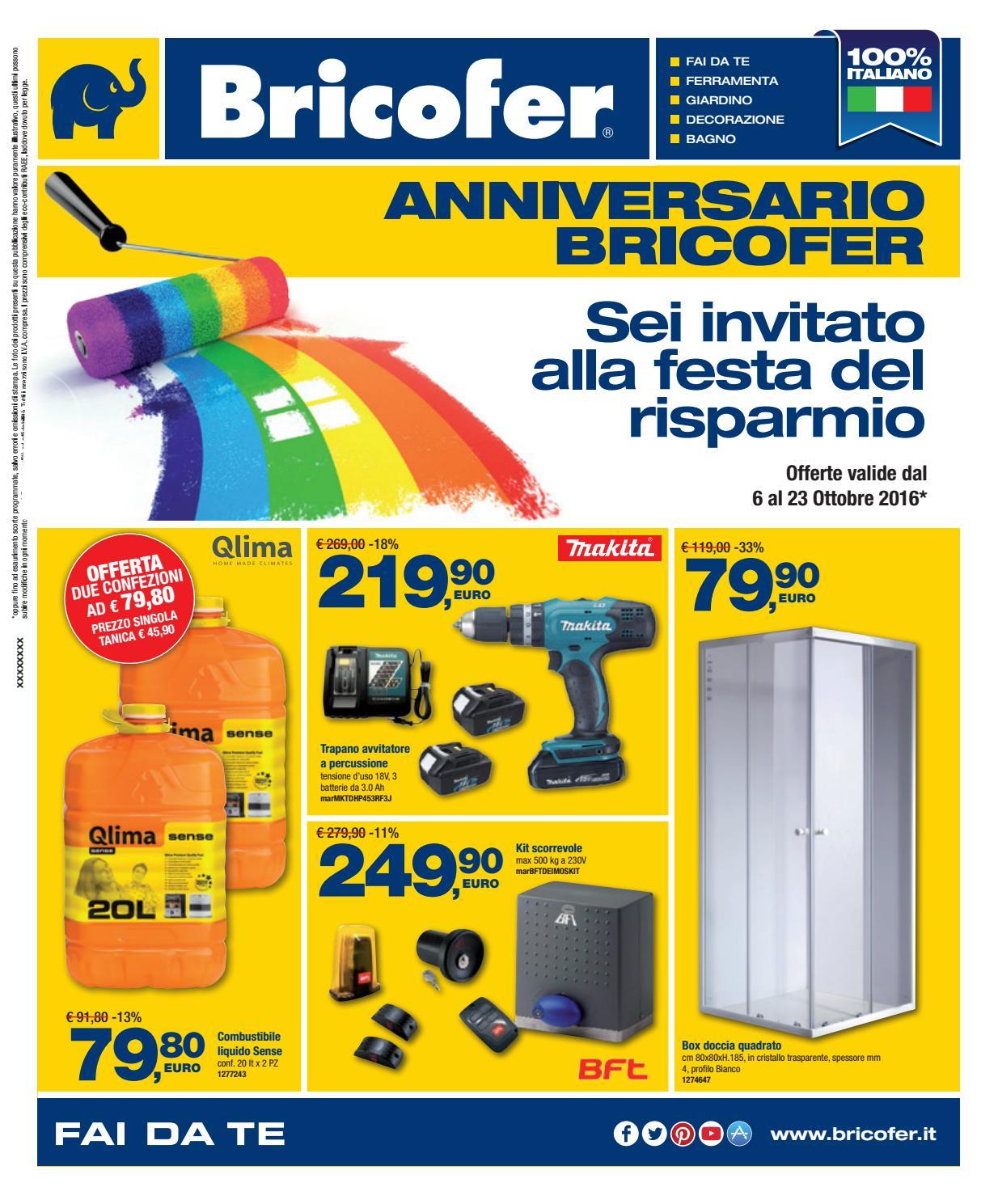 Cabina Doccia Bricofer.Volantino Bricofer Aversa Ottobre 2016 By Bricofer Aversa