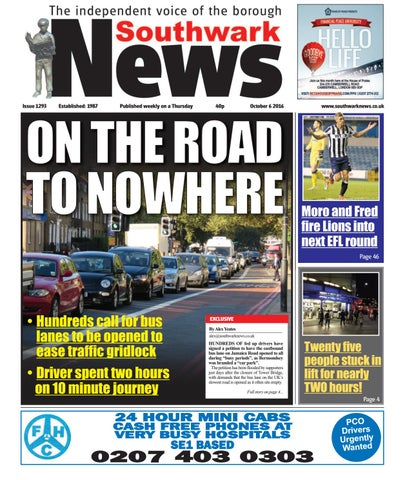 6th October 2016 by Southwark News - issuu