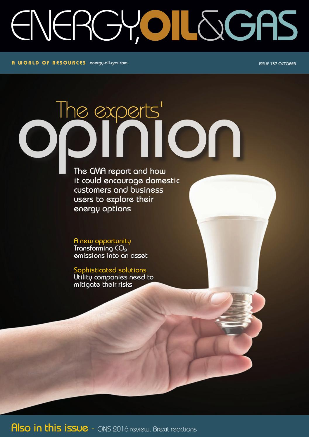 Energy Oil Gas Issue 137 October 2016 By Schofield Publishing Ltd Use For The Tesla Switch Page 58 Energetic Forum Issuu