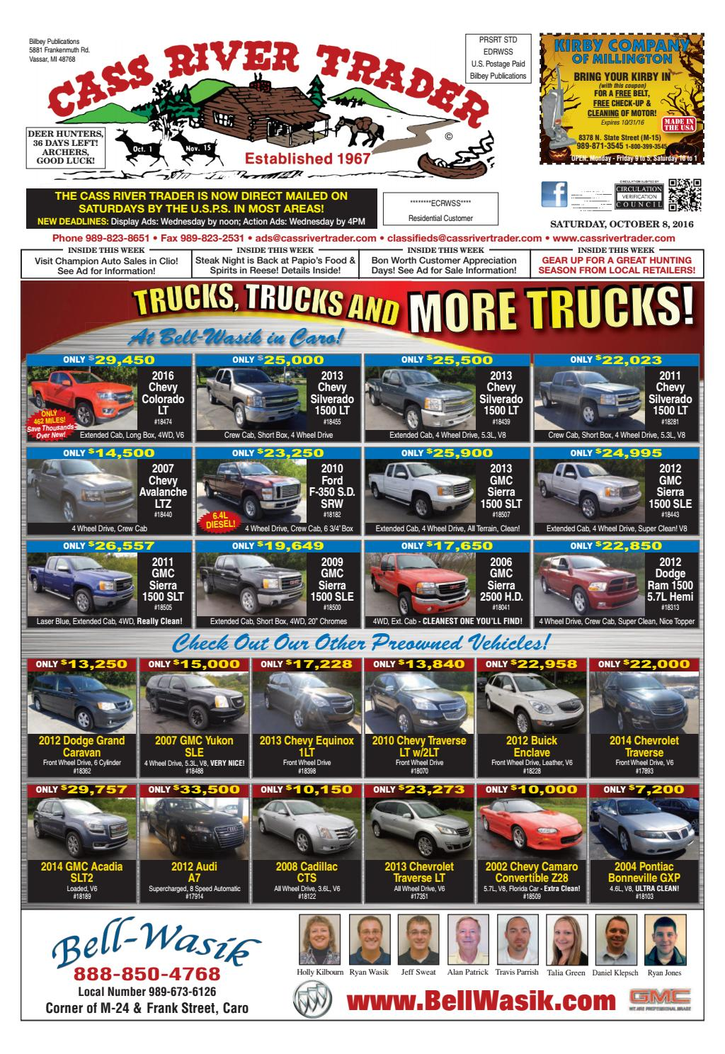 Crt10082016web by Cass River Trader - issuu