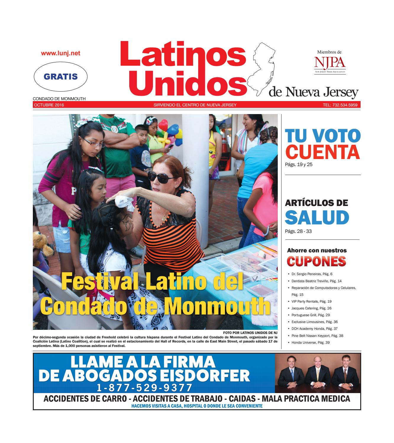 Monmouth County OCT 2016 by Latinos Unidos de NJ - issuu