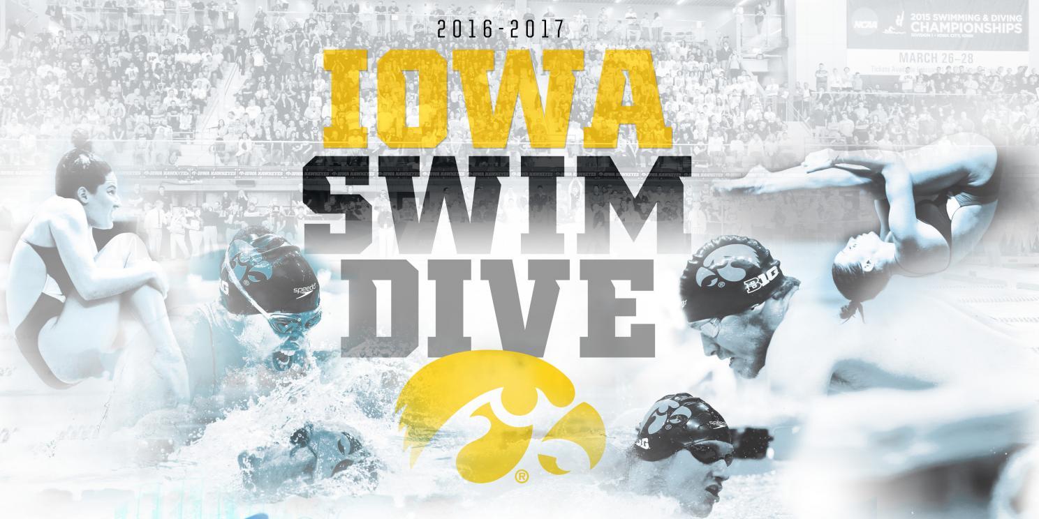 2016 17 university of iowa swimming diving media guide by iowa rh issuu com
