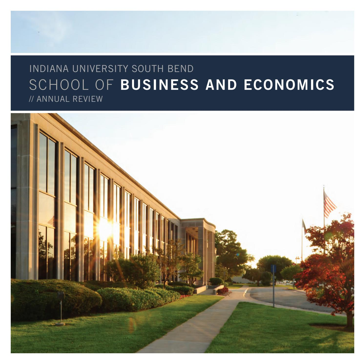 Business And Ecomonics 2011 Annual Review By Indiana University