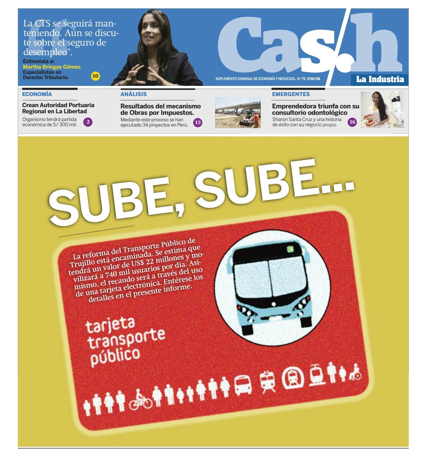 Cash n º 76 Suplemento de Economía y Negocios del Diario La ...