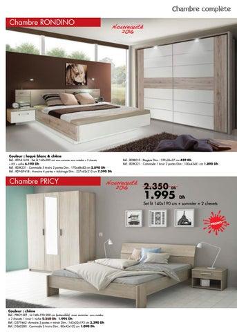 Kitea chambre coucher 2016 by promodumaroc issuu - Chambre a coucher 2016 maroc ...