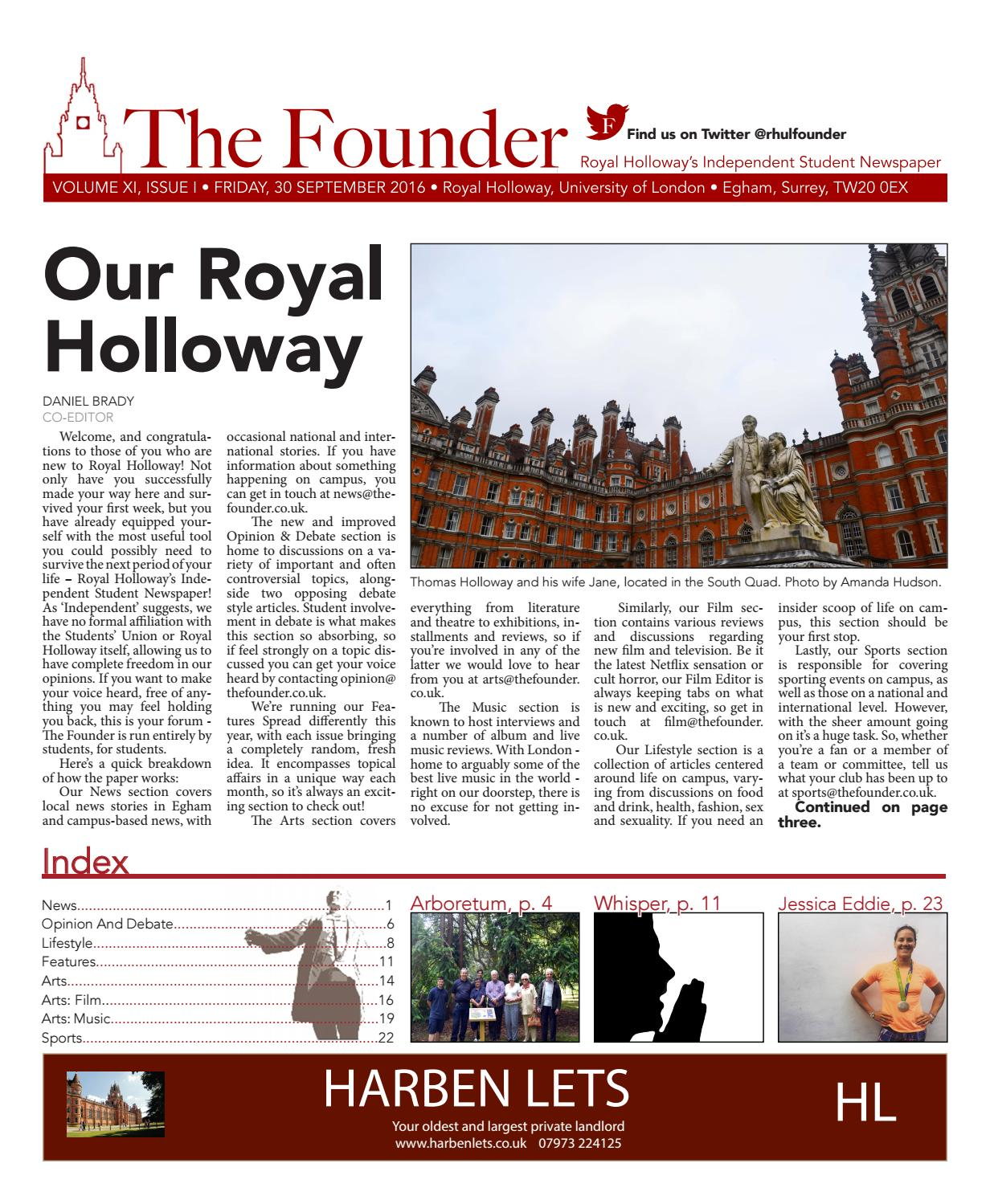 The Founder, September 2016 by The Founder - issuu