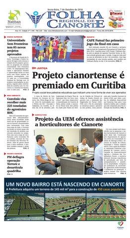 bb478aaf1f Folha Regional de Cianorte - Edição 1549 by Folha Regional de ...