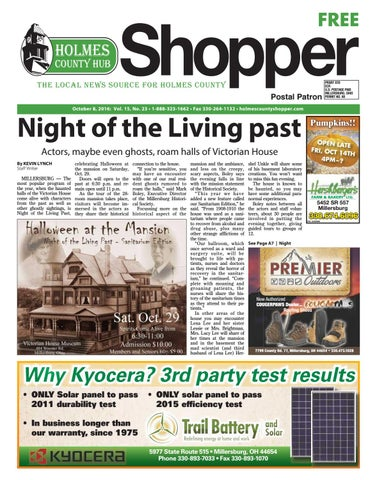 Holmes County Hub Shopper Oct 8 2016 By Gatehouse Media