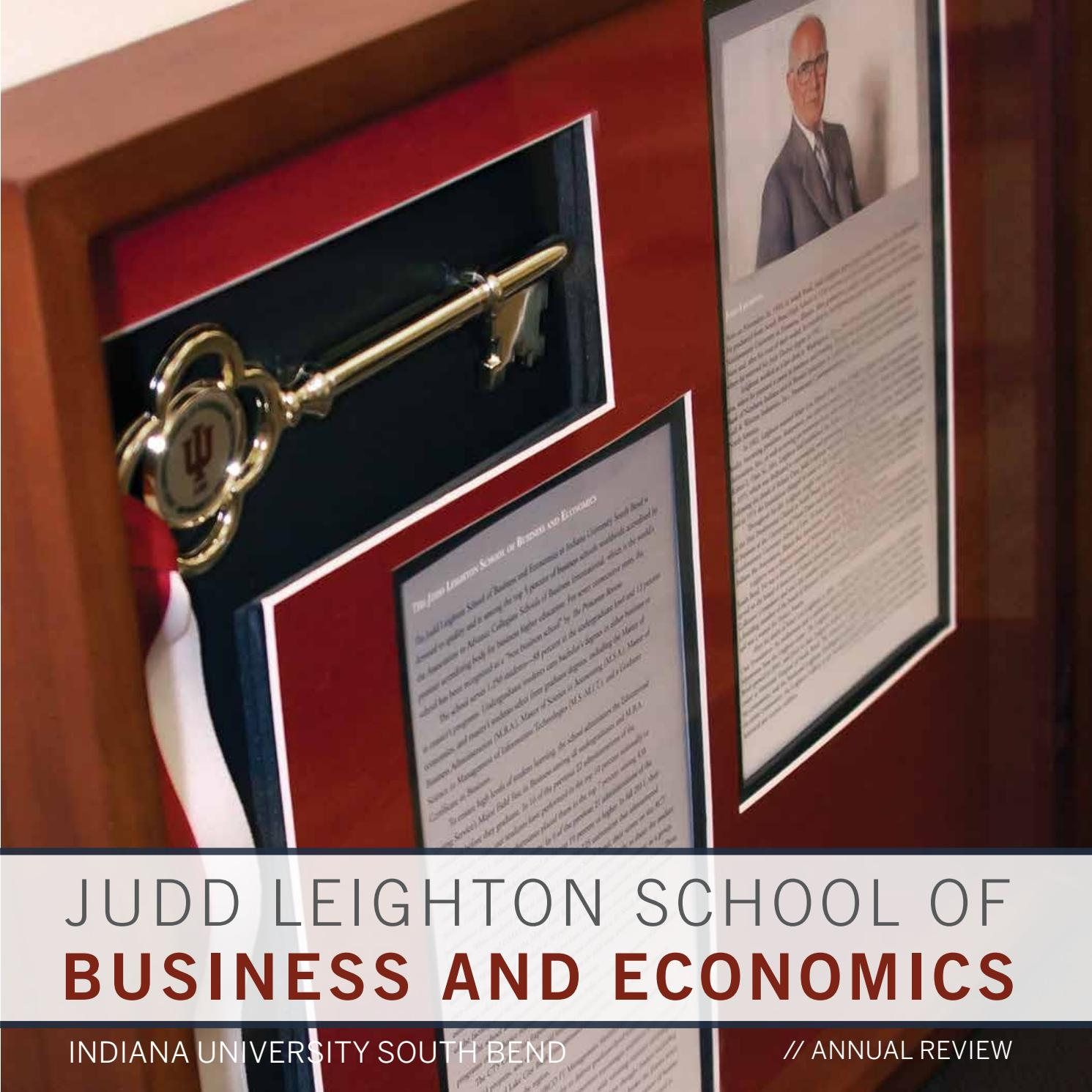 2013 Leighton School Annual Review by Indiana University South Bend - issuu