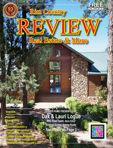 Rim Country REVIEW Magazine – October 2016 by Rim Country