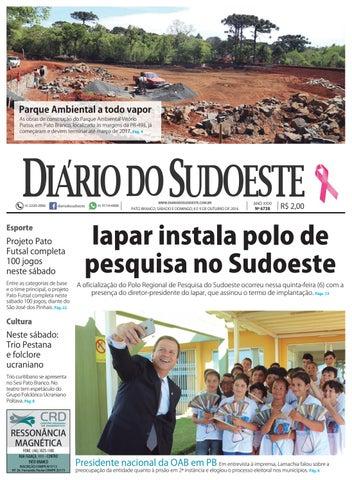 Diário do sudoeste 8 e 9 de outubro de 2016 ed 6738 by Diário do ... beb2d54aab