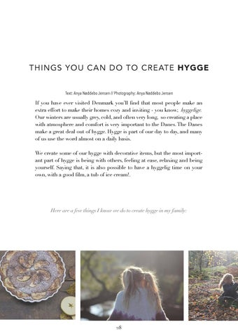 Page 28 of Things You can do to Create Hygge