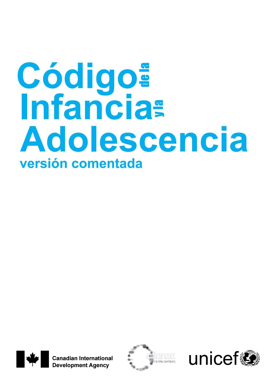 Codigo infancia y adolescencia ley 1098 de 2006 comentado by Justina ...