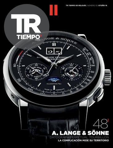 5409d633f38 Tr tiempoderelojes numero 13 by Ed-Tourbillon.Spain - issuu