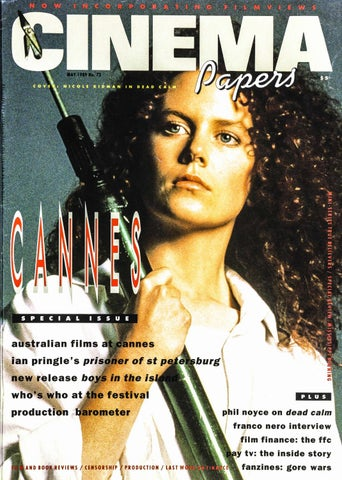 Cinema Papers No73 May 1989 By Uow Library Issuu