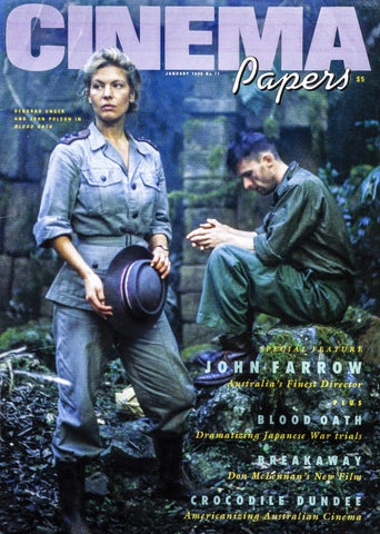 Cinema Paper No77 January 1990 By Uow Library Issuu