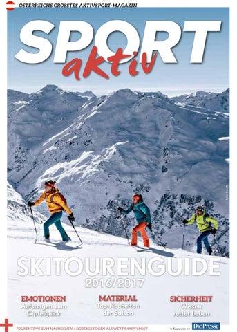 d39ac34f90100 Sport Aktiv Skitourenguide 2016 by Gigasport - issuu