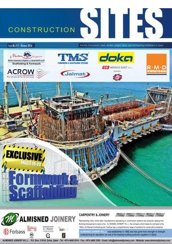 medium bridge construction site construction sites october issue no 99 by qatar construction
