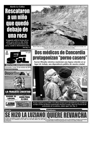 Diario El Sol (Lunes 10 octubre 2016) by Diario El Sol - issuu 9aaec730827d1